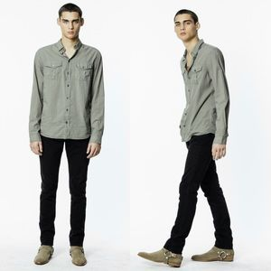 Zadig and Voltaire Thibaut Shirt Button Down Coton
